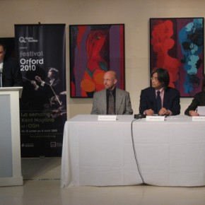 Orchestre Symphonique de Montreal / Press conference