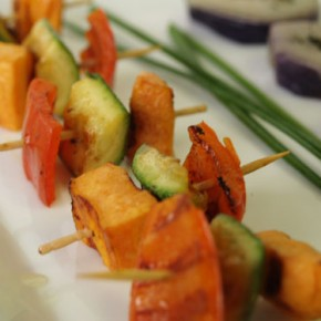 Grilled Vegetable Brochette