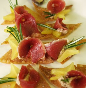 Smoked Crispy Duck  (Smoked duck and ravioli)