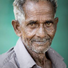M_H50_Portrait of a Kerala Elderly - William Yu - United States