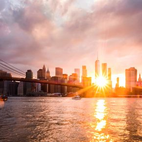 S_W30_Sunset in New York - Stepan A. Ermakov - Norway